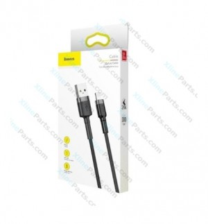 Data Cable Baseus MicroUSB 1m gray black (Original)