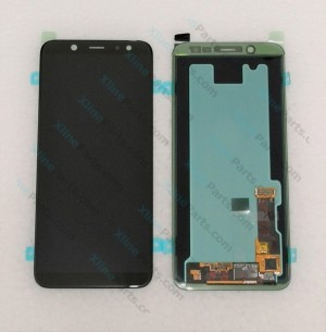 LCD with Touch Samsung Galaxy A6 Plus (2018) A605 black (Original)