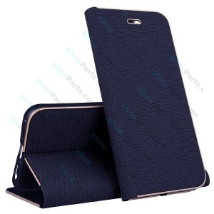 Flip Case Magnetic Huawei P20 Lite dark blue