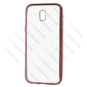 Silicone Case Electro Samsung Galaxy J5 (2017) J530 red rose