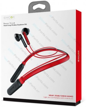 Bluetooth Headset Baseus Encok Neck Hung S16 red (Original)