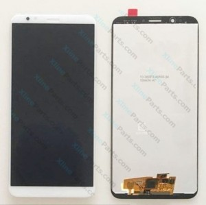 LCD with Touch Huawei Y7 Prime Y7 Pro (2018) white OCG