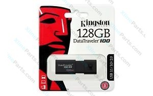 Kingston DataTraveler Pen Drive USB 3.1 128GB black (Original)