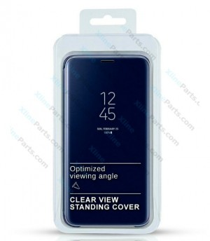 Flip Case Clear View Samsung Galaxy S8 Plus G955 blue