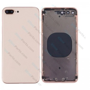 Back Battery and Middle Cover Apple iPhone 8 Plus gold Complete