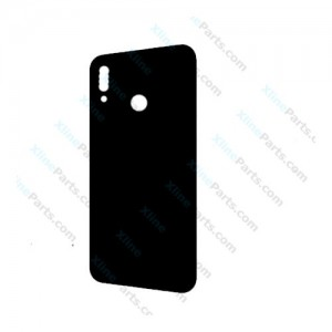 Silicone Case Carbon Huawei P20 black