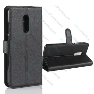 Flip Case Leather Xiaomi Redmi 5 black