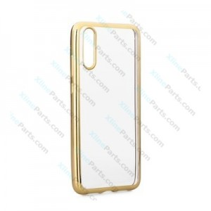 Silicone Case Electro Huawei P20 gold