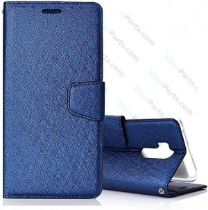Flip Case Fancy LG G7 ThinQ dark blue