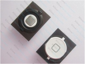 Home Button Key Apple iPhone 4S white
