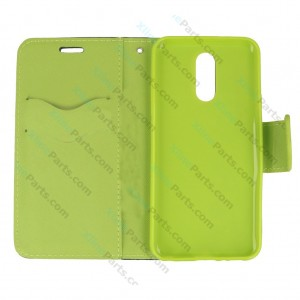 Flip Case Fancy LG Q7 green
