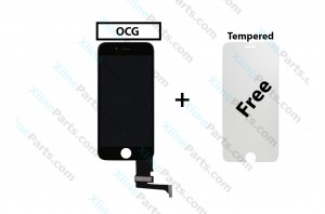 LCD with Touch Apple iPhone 7 Plus black OCG