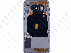 Back Battery and Middle Cover Samsung Galaxy S6 dark blue
