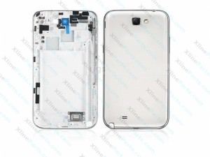Back Battery and Middle Cover Samsung Galaxy Note 2 N7100 white