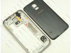 Back Battery and Middle Cover Samsung S5 G900 black