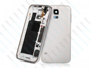 Back Battery and Middle Cover Samsung Galaxy S5 G900 white