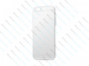 Silicone Case iPhone 6G Plus/6S Plus clear black