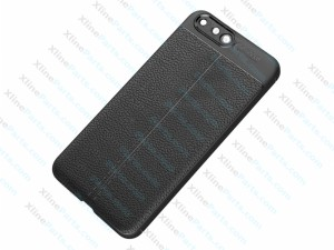Back Case Huawei P10 Litchi Texture Hard Case black