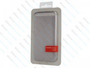 Back Case Huawei P10 Plus clear grey (Original)