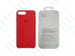 Back Case Apple iPhone 7 Plus/8 Plus Hard Case red