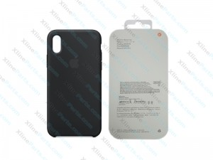 Back Case Apple iPhone X/XS Hard Case black