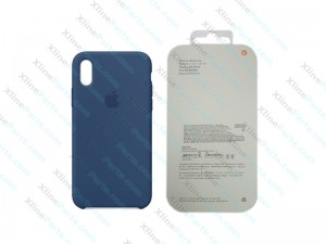 Back Case Apple iPhone X/XS Hard Case blue cobalt