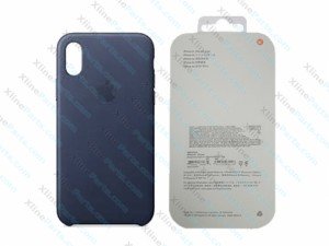 Back Case Apple iPhone X/XS Hard Case midnight blue