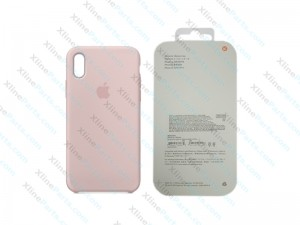 Back Case Apple iPhone X/XS Hard Case pink sand