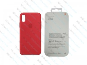 Back Case Apple iPhone X/XS Hard Case red