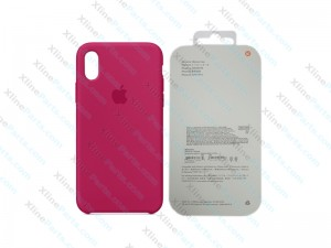 Back Case Apple iPhone X/XS Hard Case rose