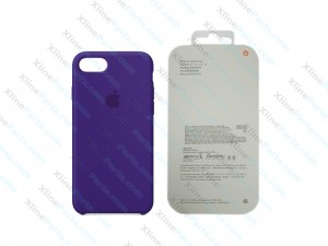 Back Case Apple iPhone X/XS Hard Case ultra violet