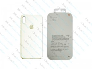 Back Case Apple iPhone X/XS Hard Case white