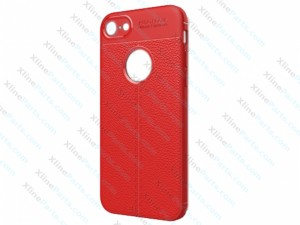 Back Case Silicone iPhone 7 Plus/8 Plus red