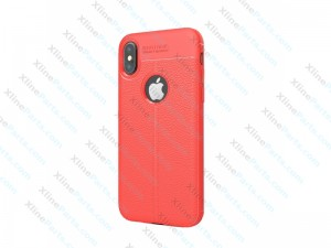 Back Case TPU iPhone X/XS red