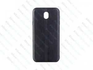 Back Case Leather Samsung Galaxy J3 (2017) J330 black