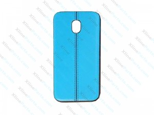 Back Case Leather Samsung Galaxy J3 (2017) J330 blue
