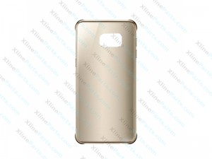 Back Case Samsung Galaxy S6 Edge Plus Clear Cover gold (Original)