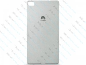 Back Case Slim Protective Huawei P8 light grey (Original)