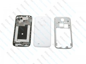 Back Battery and Middle Cover Samsung Galaxy S4 I9505 white