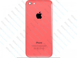 Back Battery Cover Apple iPhone 5C pink