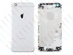 Back Battery Cover Apple iPhone 6G silver