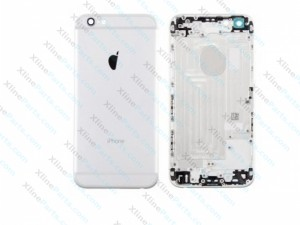 Back Cover Apple iPhone 6S silver