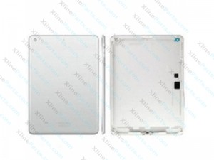 Back Battery Cover Apple iPad 5 Air WiFi silver