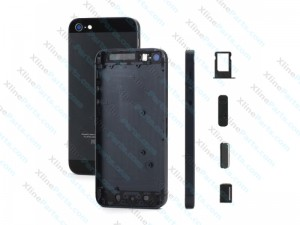 Back Battery Cover Apple iPhone 5G black