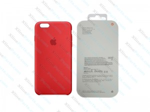 Back Case Apple iPhone 6G/6S Hard Case red