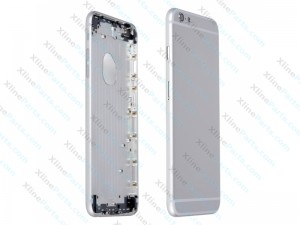 Back Battery Cover Apple iPhone 6S Plus silver