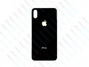 Back Cover Apple iPhone X iPhone XS black