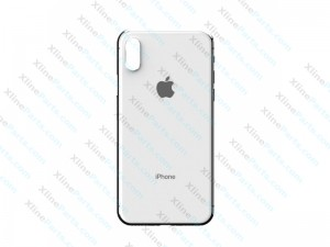Back Cover Apple iPhone X iPhone XS white