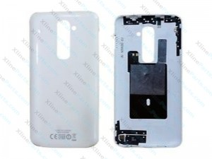 Back Cover LG G2 D802 white