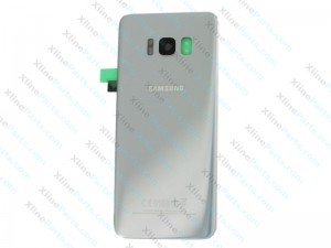 Back Battery Cover Samsung Galaxy S8 Plus G955 silver